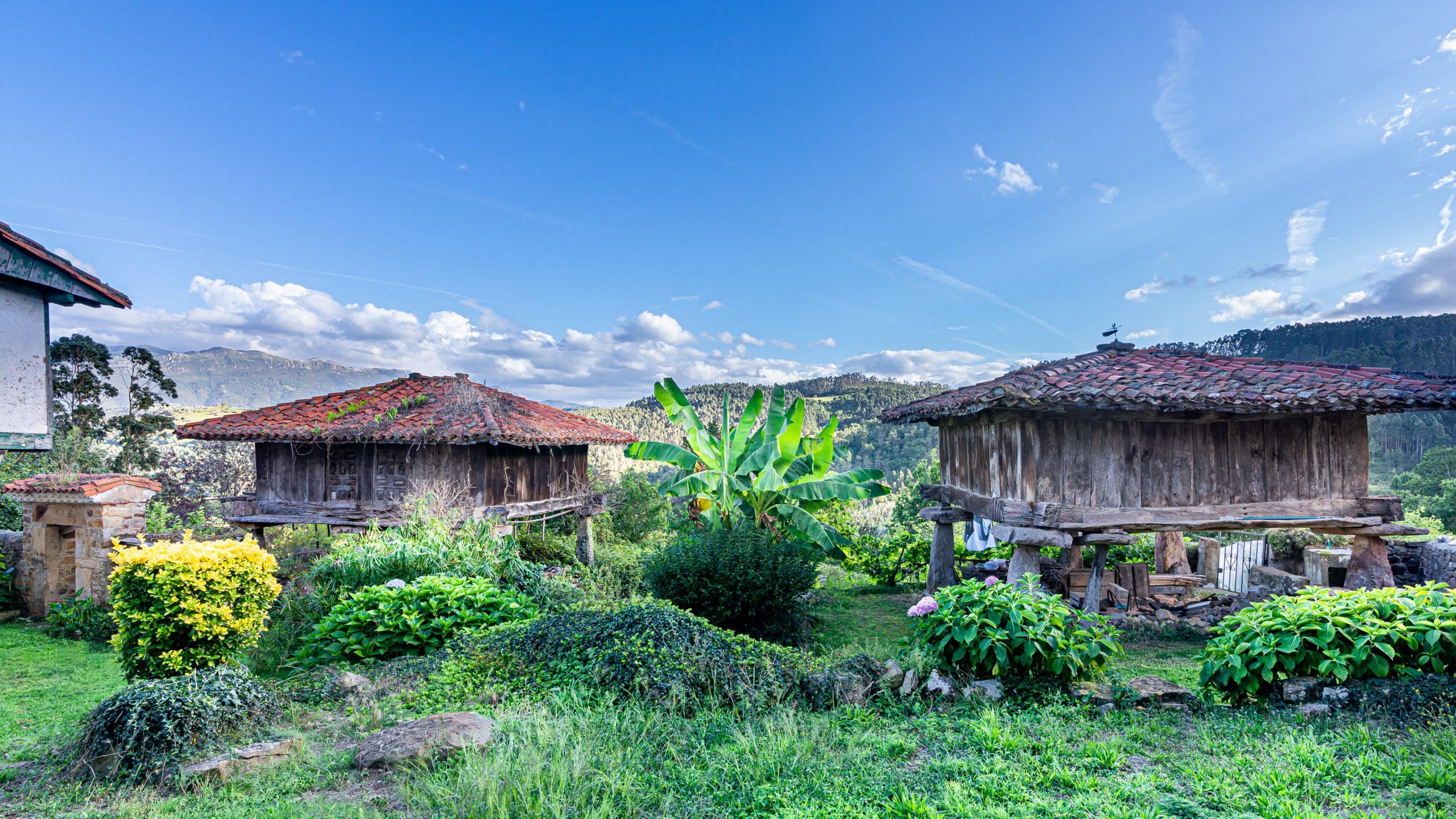Fotografía de Paisajes Horreos Asturias