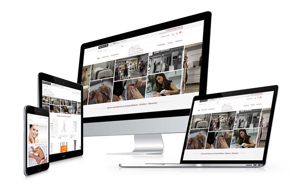Diseño Tienda Online Valle Morilla