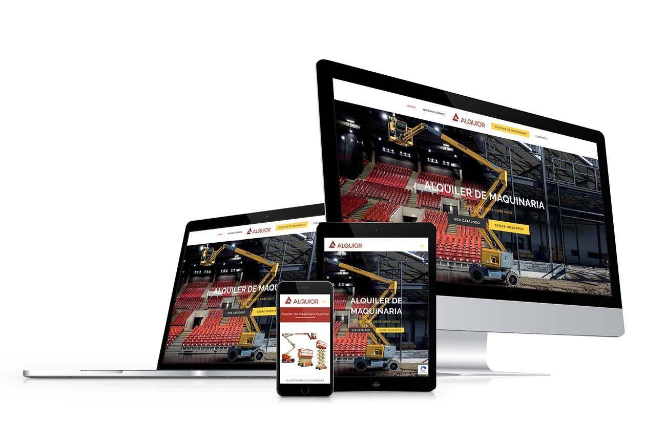 Diseño Web Alquior