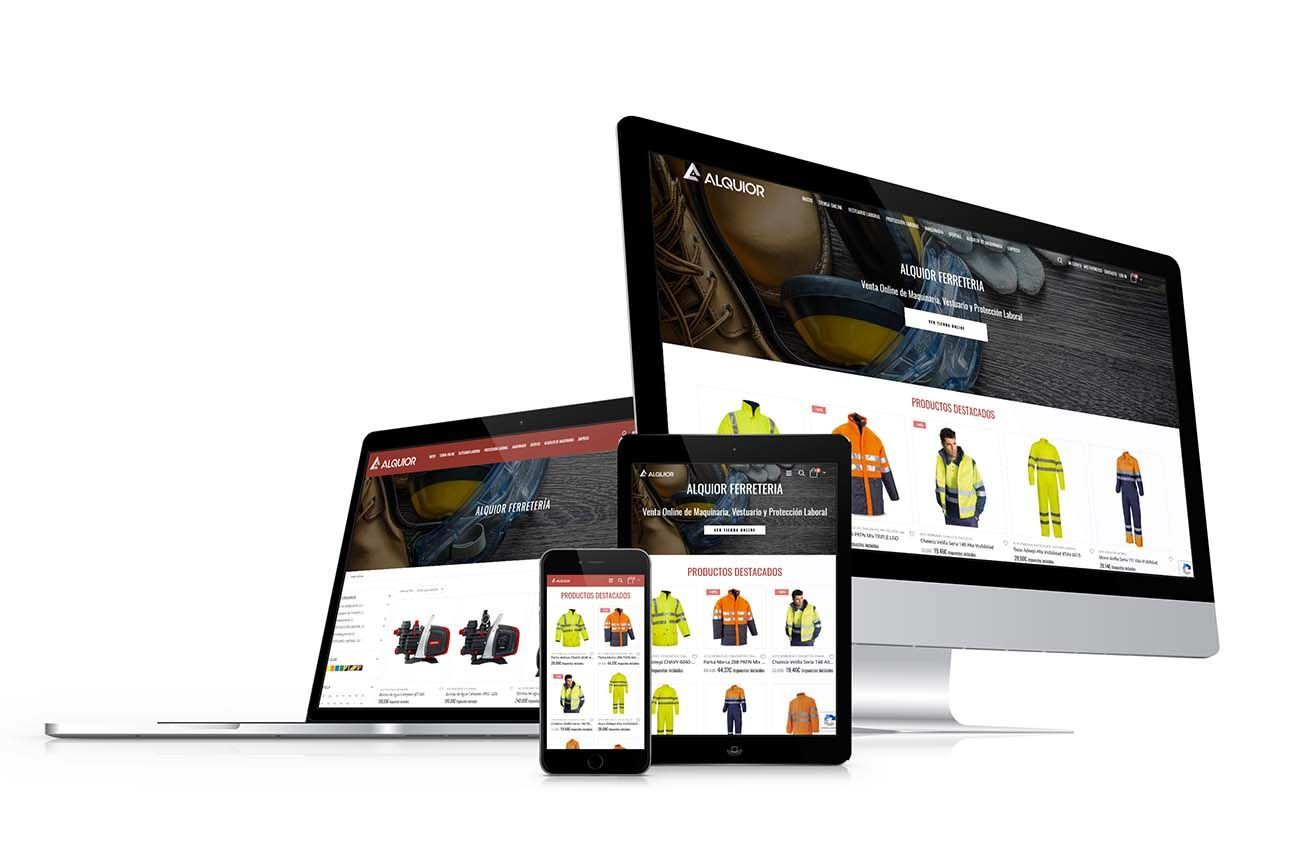 Diseño Tienda Online Ferretería Bricourense