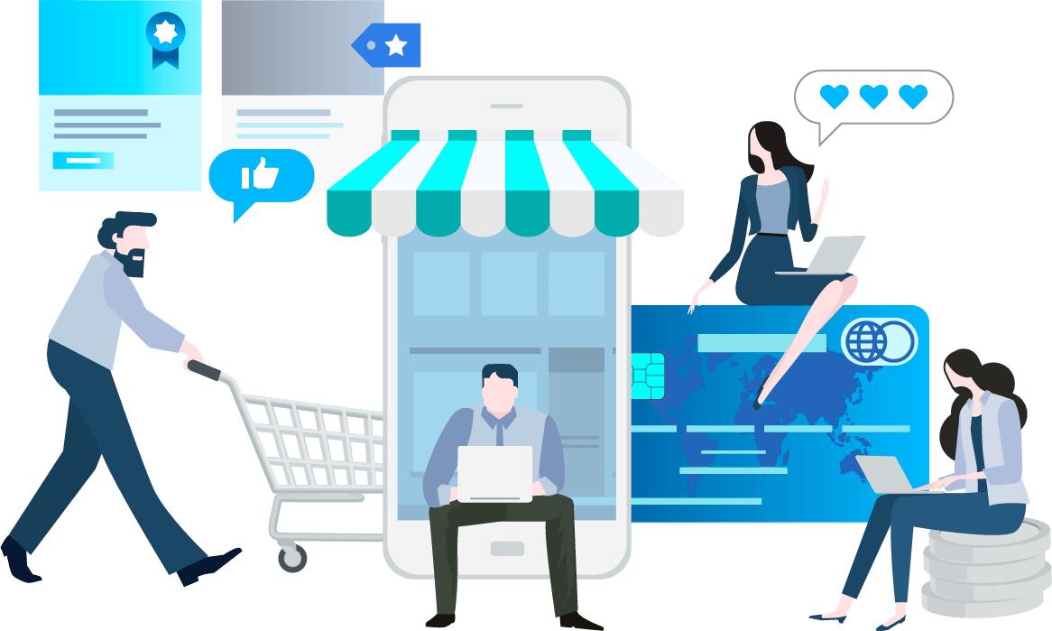 Tu tienda online en todos los dispositivos